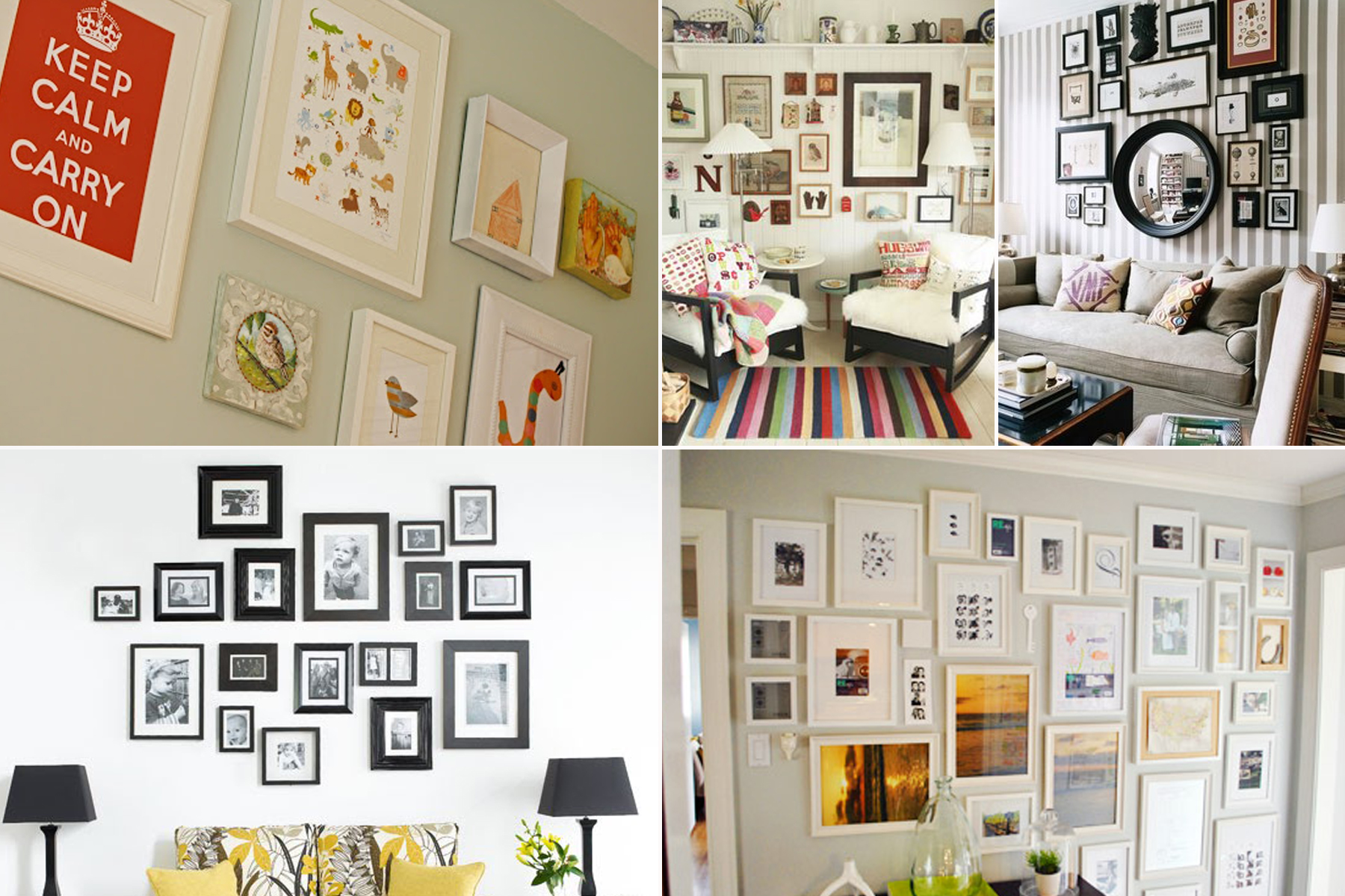 Wall Decor Frames wall decor photo frames - techieblogie