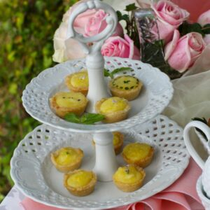 Lemon Curd Tartlettes