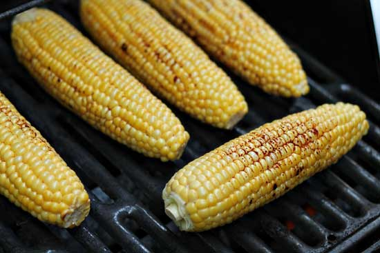 Grilled Chili-Lime Corn on the Cob – Her View From Home