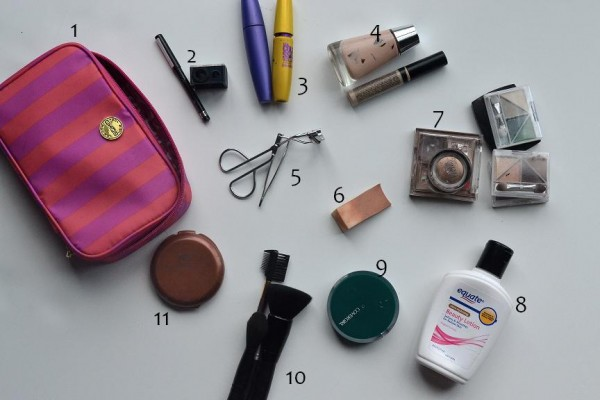 What's in her makeup bag?