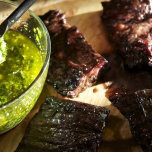 Grilled Skirt Steak with Sonoma Chimichurri