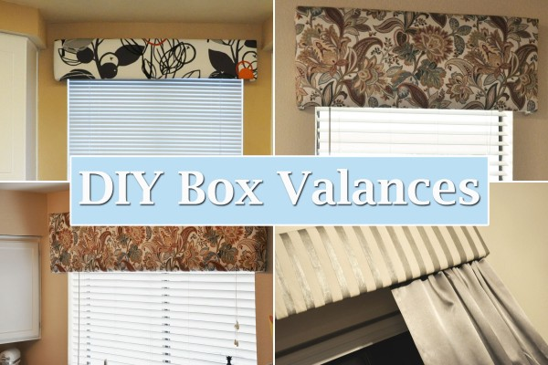 Diy Box Valances Her View From Home