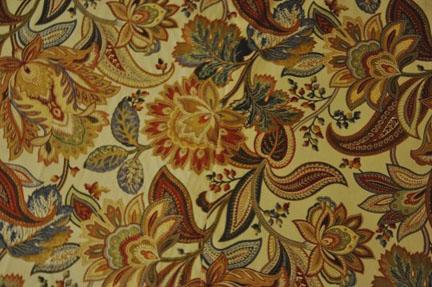 detail shot of seam line on fabric