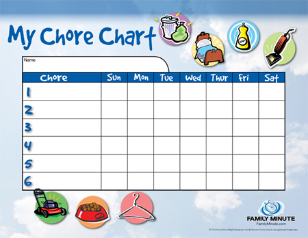 Mom Tips Her Diy Chore Charts  Her View From Home