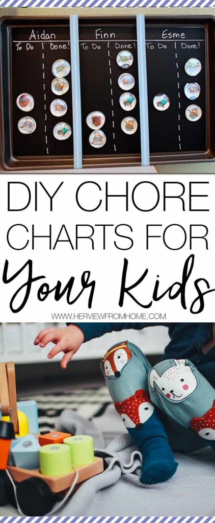 It's been proved that kids who complete chores when they are young are more successful in life. So to get you started here's a DIY chore chart for your kids!