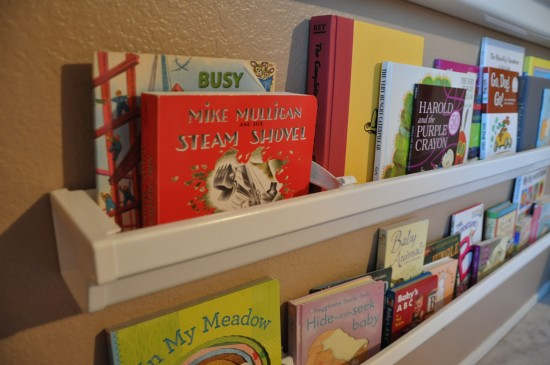 Bookshelves Made From Rain Gutters Her View From Home