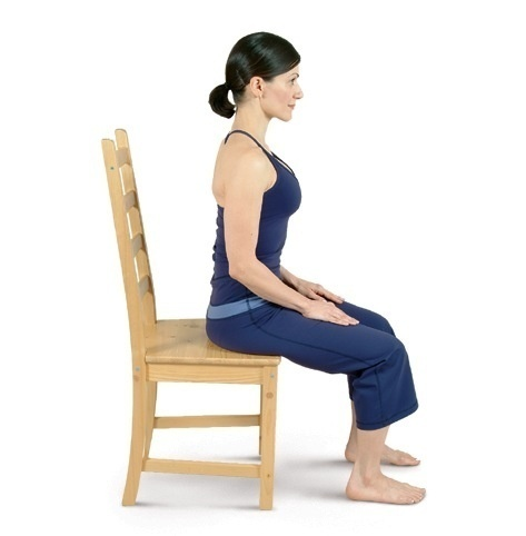 Chair Yoga Poses http://yogaservices.blogspot.com/2013/02/chair-yoga-poses.html