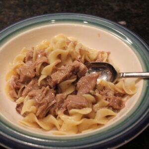 Beef Roast + Leftover Beef & Noodles