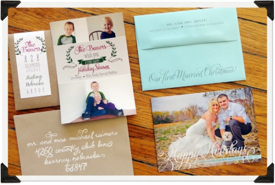 7 tips for Proper Etiquette When Sending out Christmas Cards www.herviewfromhome.com