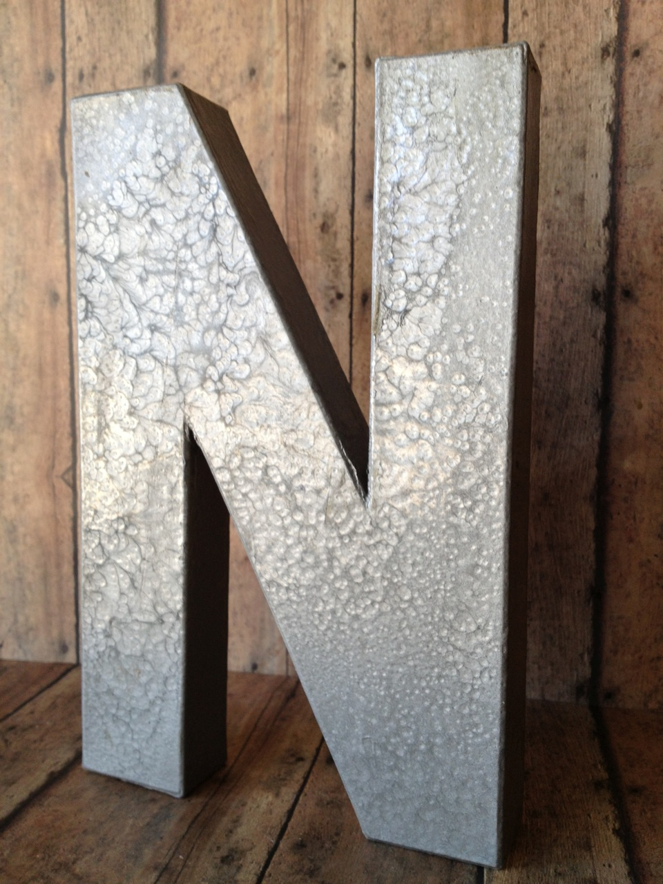 Large Flat Metal Letters $2 Diy Metal Letters  Her View From Home