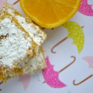 Lemon Bars & Layered Lemon Salad