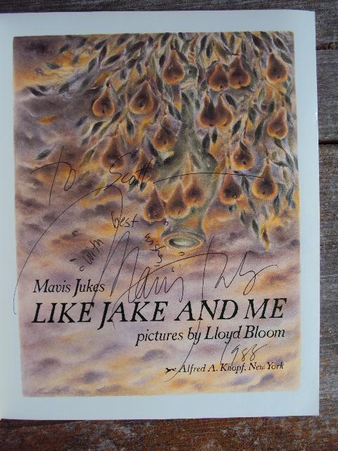 MJ Jake Inscription