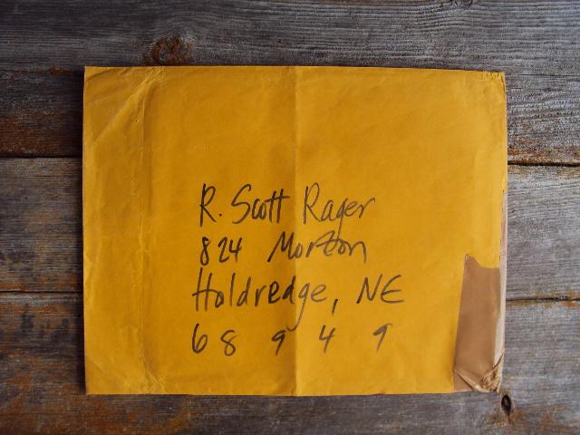 MJ envelope front