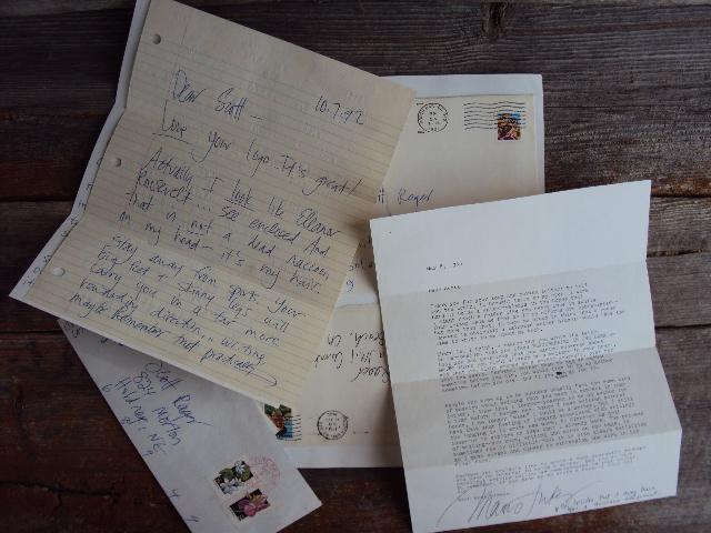 MJ penpal letters