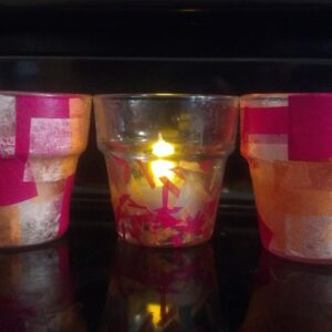 Pinspiration: Tissue Paper Candle Light