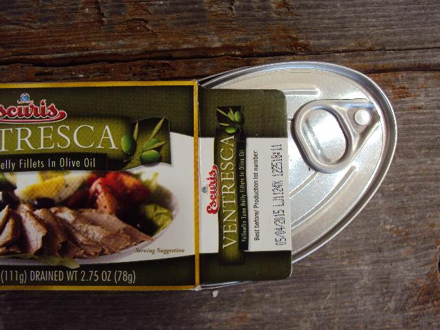tuna can and box shine