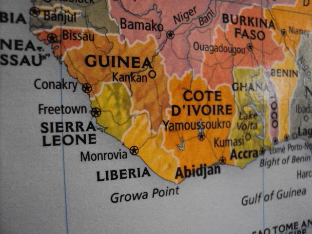 world map liberia best