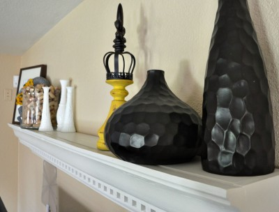 11_DIY Crown Moulding to Mantle by Making Our Dream