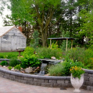 Create a tranquil backyard retreat