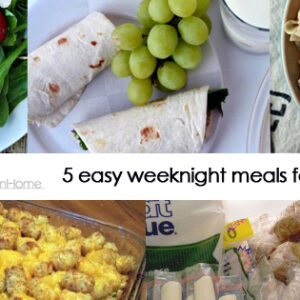 5 meals for under $50