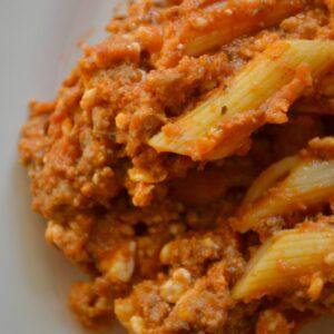 15 Minute Skillet Lasagna