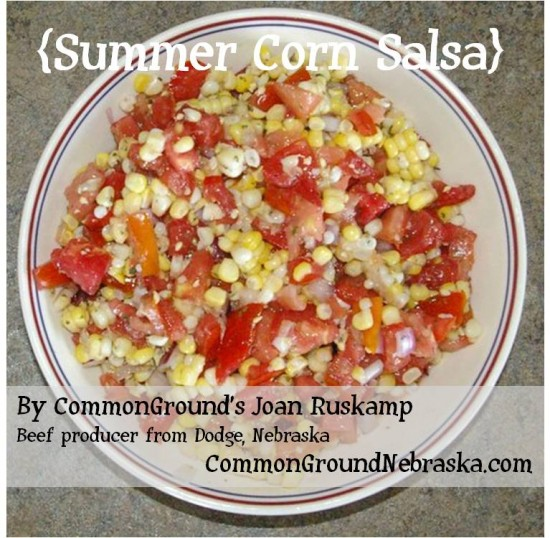 summer salsa joan ruskamp nebraska beef farmer commonground nebraska