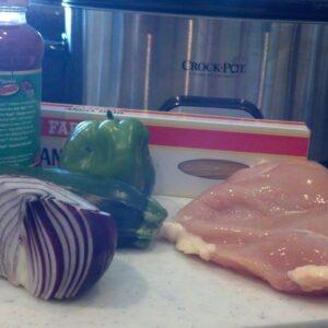 Crock Pot AND Freezer: Chicken Cacciatore