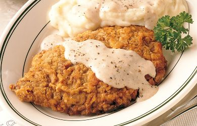 Chicken Fried Steak | Her View From Home