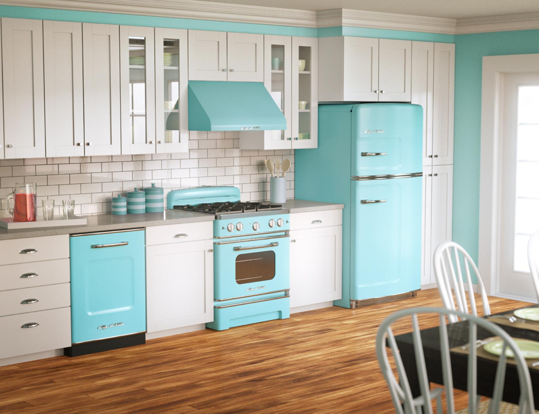 1920 1440 modern retro kitchen design ideas her view for Modern 1920 s kitchen