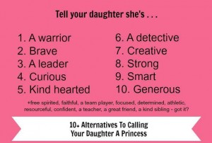 Tell your daughter