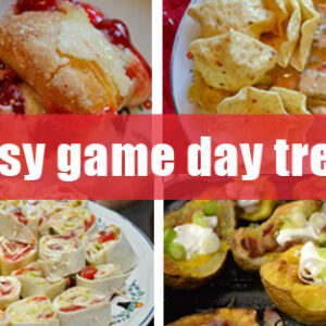 4 easy game day treats!