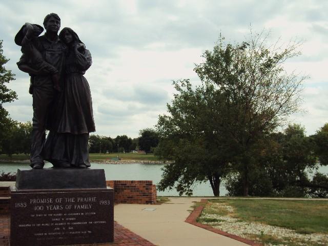 north park statue