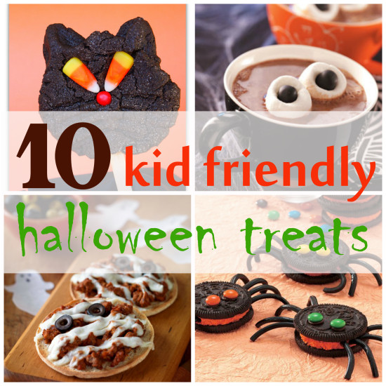10 kid friendly halloween recipes her view from home for Easy kid friendly halloween treats