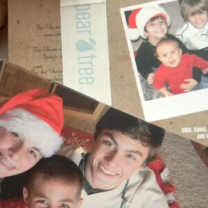 #Hashtag Inspired Christmas Cards