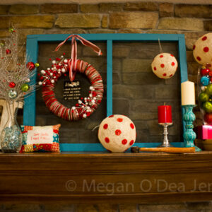 The Making of a Holiday Mantle