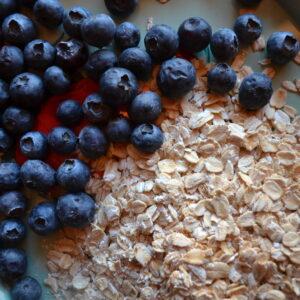 Blueberry Granola + Pantry Tour
