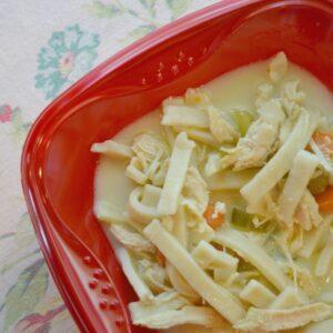 The Secret of Chicken Noodle Soup