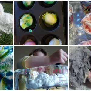 Shaving Cream Fun!  6 Ways.