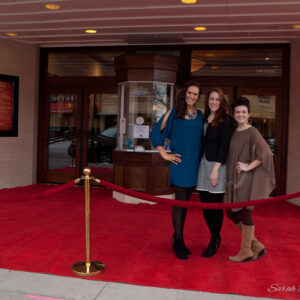 Coffee Chat + Red Carpet Photos!
