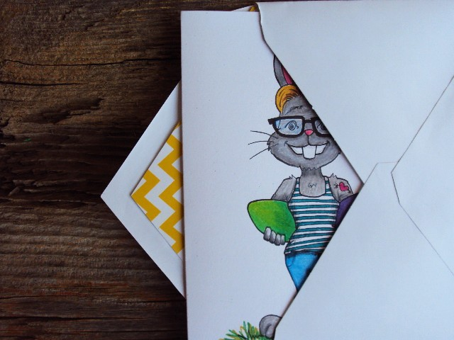 easter hipster and envelope2