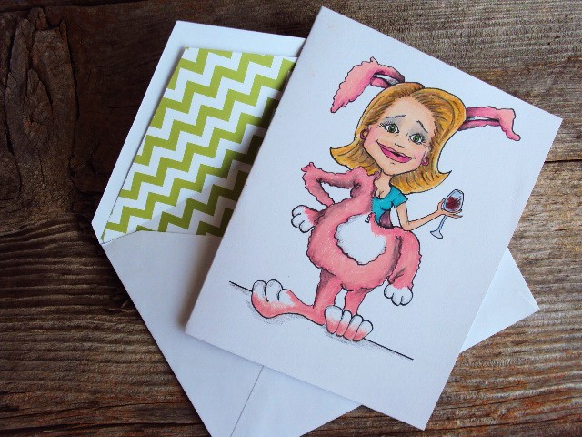 easter mom and envelope
