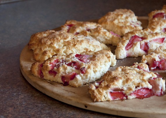Strawberry Shortcake Scones www.herviewfromhome.com