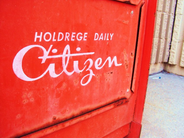 Holdrege Daily Citizen newstand logo