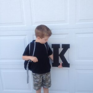 Open Letter To My Kindergartener on His First Day