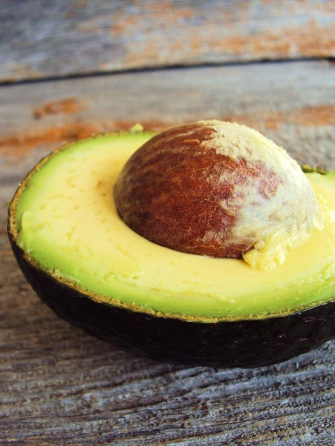 Avacado on Barn Wood