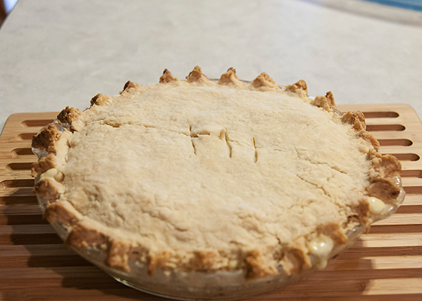 Easy Pie Crust + Mexican Chicken Pie   www.herviewfromhome.com
