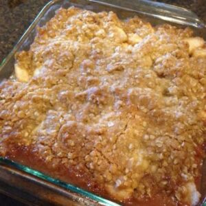 My Apple Pear Crisp