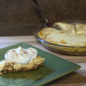 Trim Healthy Pumpkin Cheesecake