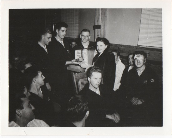 My Grandpa with Judy Garland