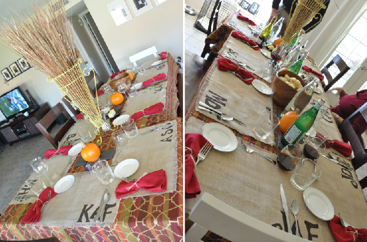 DIY Project for your Thanksgiving Table - Her View From Home